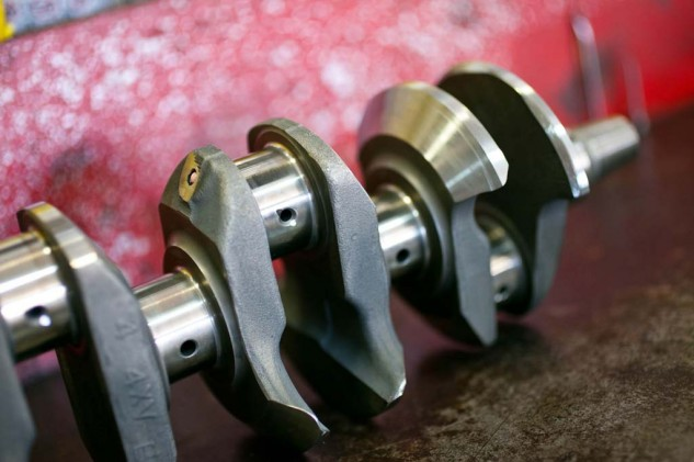 APE removed about 3 unsightly pounds from our crank and balanced it perfectly.