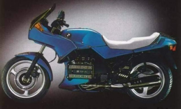 The need for speed gave way to touring with his future wife, and the BMW K75 was the Czysz steed of choice.