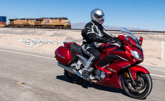 The FJR1300ES is more powerful than two speeding locomotives.