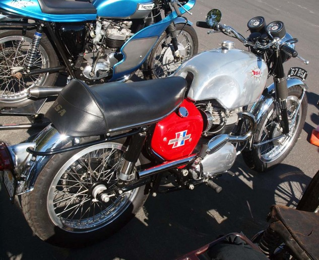 Brian Person's 1967 BSA Spitfire, bought new, took home Best BSA award.