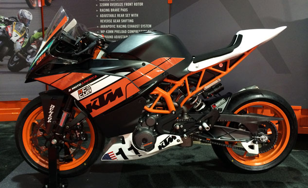 MotoAmerica's newest class, the RC Cup, will use identically prepared KTM RC390s to help bring out the best youth talent in America.