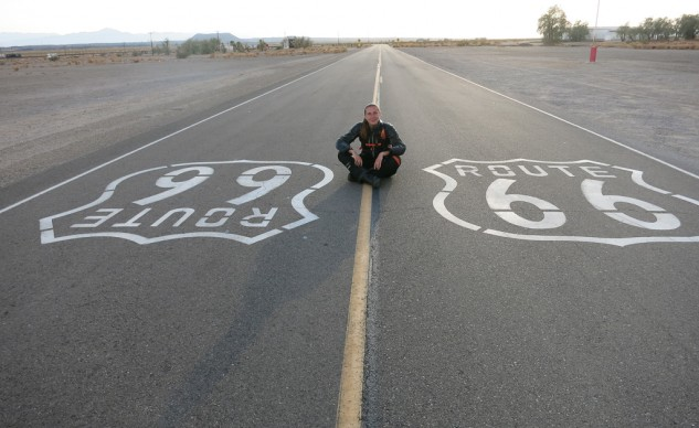 Anna on Route 66