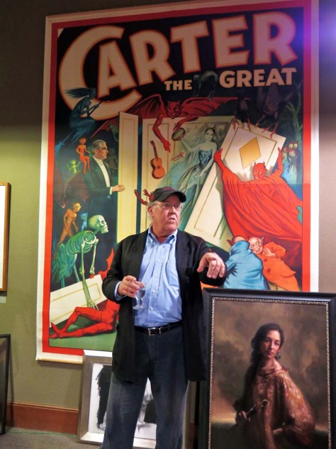 Bob Johnson's Art Gallery is right on the Healdsburg Square. We should all be so lucky and cool as this guy. You'd expect him to be some kind of jerk but he won't be.