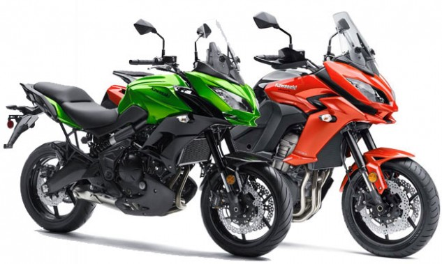 2015 Kawasaki Versys 650 and Versys 1000 LT