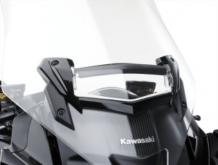The vent is two-position adjustable and helps reduce the low-pressure zone in the cockpit and minimize buffeting.