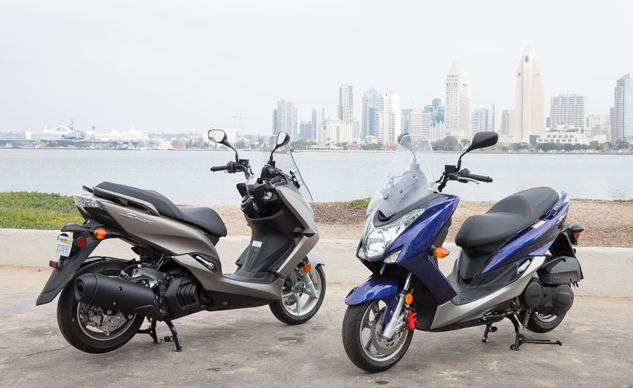 2015 Yamaha Smax First Ride Review