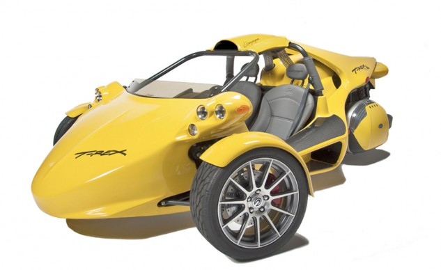 We have to wonder why the Slingshot is being treated differently from the T-Rex and other three-wheelers.