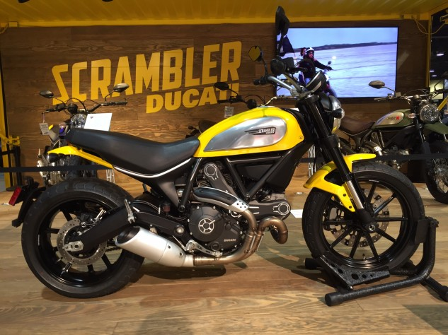 Unlike virtually every other Ducati, the Scrambler doesn't have performance as its top priority. Instead, it's about having fun.