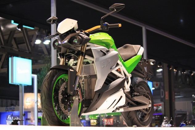 Fast sportbikes also make fast streetfighters, and Energica's latest model, the Eva, follows the classic formula of tearing off fairings, adding handlebars and losing none of the power.