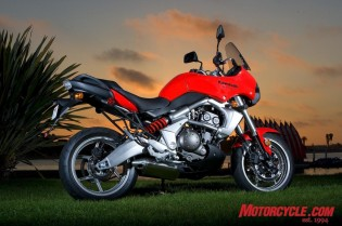 The Versys blurs category lines, bringing aspects of sportbike, standard and adventure-tourer into the multipurpose equation.