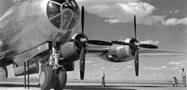 Heated grips are nice. The Boeing B-29 was the first pressurized bomber, to keep your whole body nice and warm … also oxygenated.