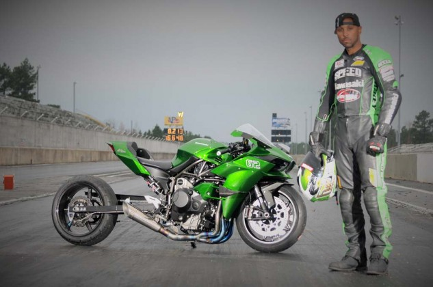 """With the H2, """"Kawasaki kind of threw the middle finger up at everybody,"""" says Gadson."""