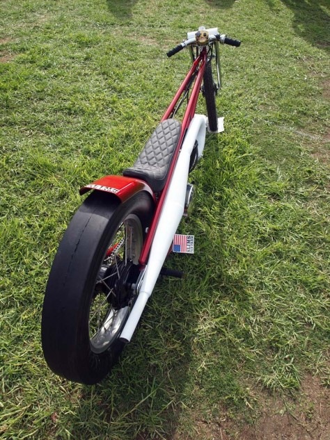 Best You Can Never Be Too Thin Bike. A 1983 Yamaha 460cc dragster by Slim Fabrications.