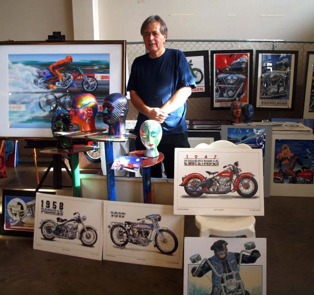 Best Head Cases thanks to artist Jim Knight of Huntington Beach, CA, Motorcycle Art Works.
