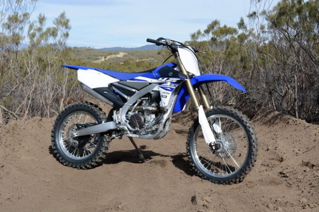 At a cursory glance, one might think that this was just another Yamaha YZ250F, but it isn't. Yamaha's all-new YZ250FX is based on the motocross machine but is designed for closed-course off-road racing.