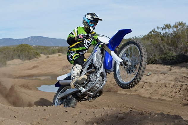 The FX's suspension delivers tremendous control over extreme hits such as sand whoops and rocks, and it is plenty supple when low-speed chop is encountered.