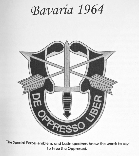 In the Vietnam era, why Germany would need a Special Forces Green Beret remains vague. But Salvadori was pleased with the assignment, until he crashed his Triumph.