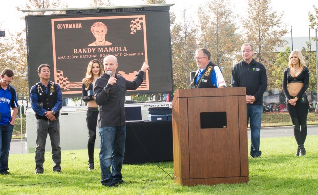Randy Mamola knows how to tell a good story. Never pass up an opportunity to hear him speak.