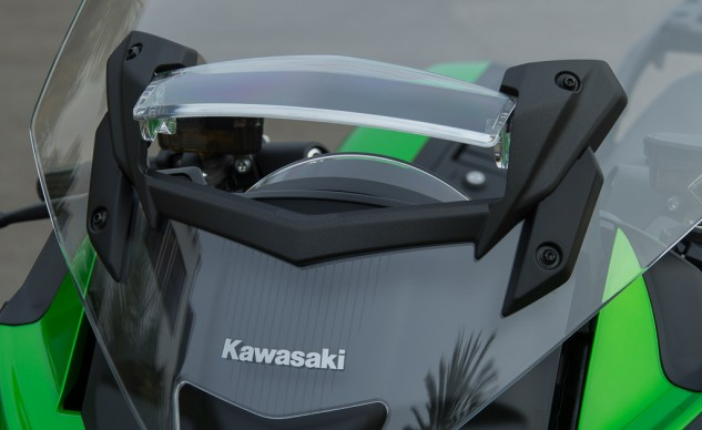 2015 Kawasaki Concours 14 ABS new windshield vent
