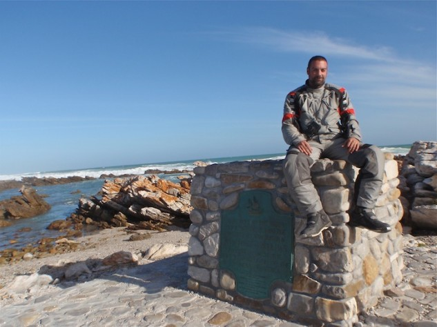 Cape Agulhas, where the Atlantic and Indian Oceans meet.