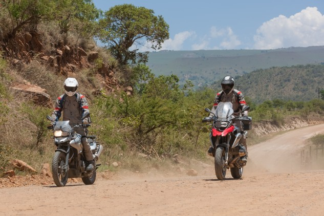 Riding with Anthony in Swaziland.