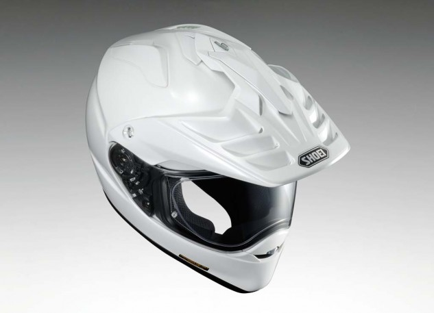 The new Hornet X2 features a quick-release face shield that doesn't require the removal of the new A-460 Visor. Hallelujah! The visor comes off almost as easy, with two quarter-turn fasteners on either side and a tongue-in-groove fastener at the top.