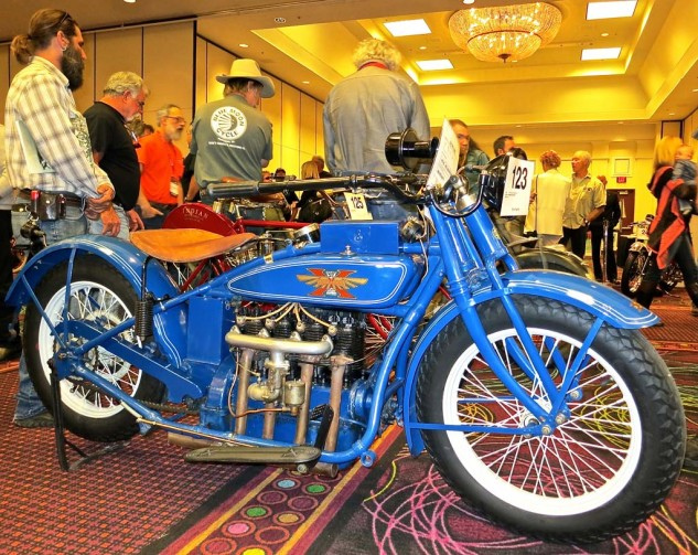 The Henderson Four stands among the most revered of early American machines. This one went for $41,400.