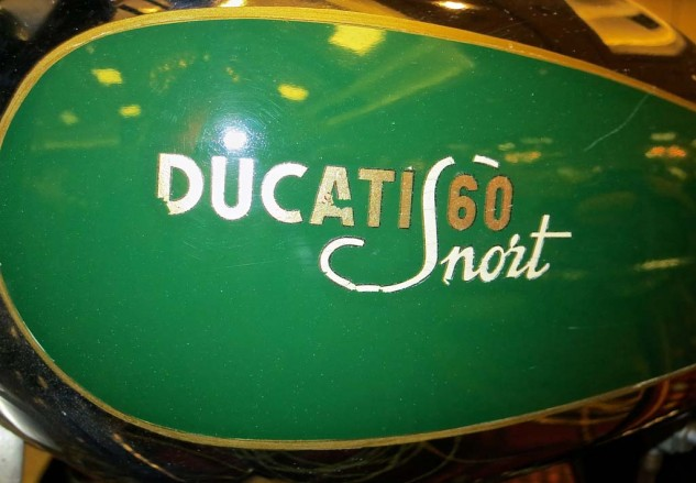 The 1950 Ducati Snort, make that Sport, was expected to bring $4-5K. It sold for $10,120.