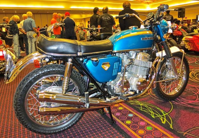 A nicely turned out 1970 Honda CB750 brought $18,400.