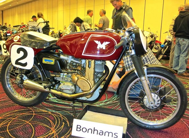 The Matchless G50 falls into the same category. This ex-Dick Mann edition from 1962 was sold for $115,000, which allowed the owner to pay off his house mortgage and simultaneously maintain his motorcycle habit.