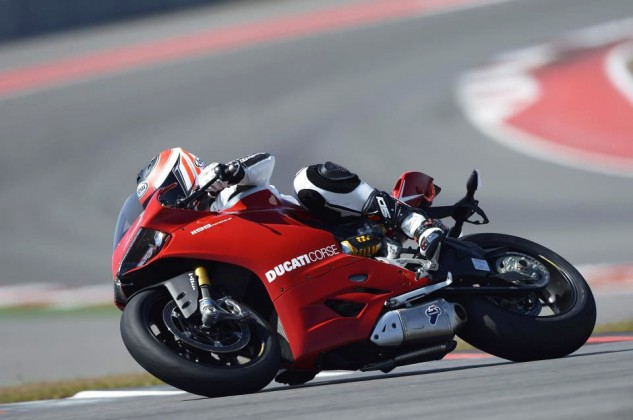 Speaking of wringing necks, here's Pauly on a Ducati 1199 Panigale at Circuit of the Americas (CotA) in Austin, Texas, where the inaugural MotoAmerica race is scheduled to go off alongside the second MotoGP of the season April 10-12.