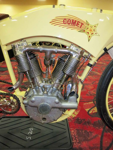 The Spacke V-Twin found use in a number of early American machines.