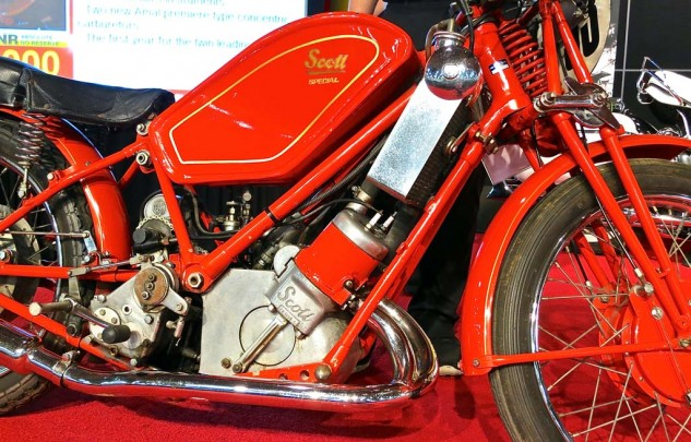 The 1929 model of the water-cooled two-stroke Twin brought $10,000.