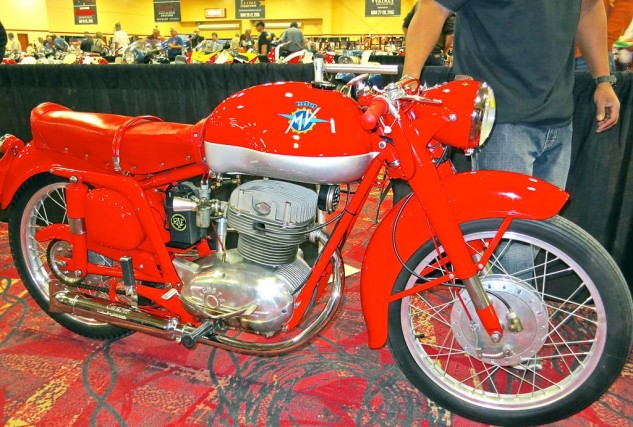 A 1954 MV Agusta Disco Volante CSS sold for $13,000.