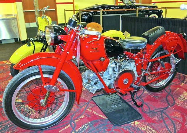 The Moto Guzzi Falcone 500 Sport sold for $19,500.