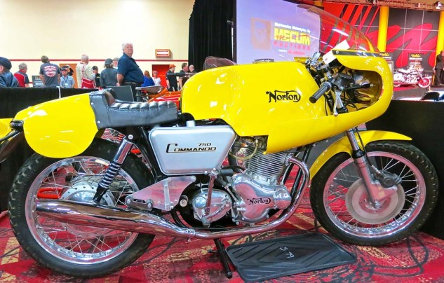 This well turned out 1974 Norton John Player Special was purchased for $16,000.