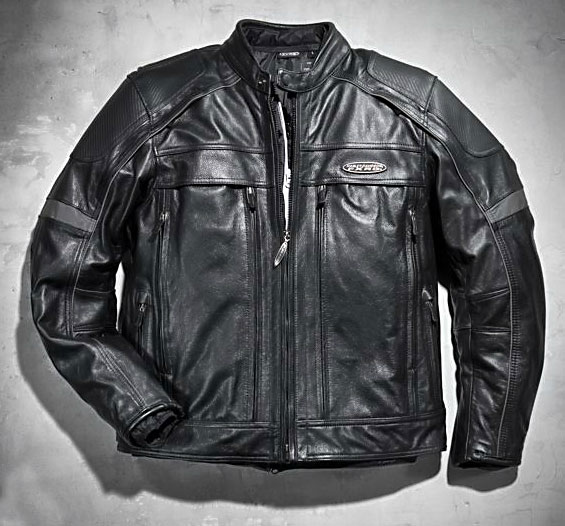 The FXRG Leather Jacket with Pocket System ($695) is a waterproof jacket featuring two large extensive pocket systems on the front for extra storage. The garment is constructed of mid-weight cowhide leather and heavyweight leather at the shoulders and elbows, with a Cocona Technology wind- and waterproof membrane, as well as a removable PrimaLoft warmth liner.