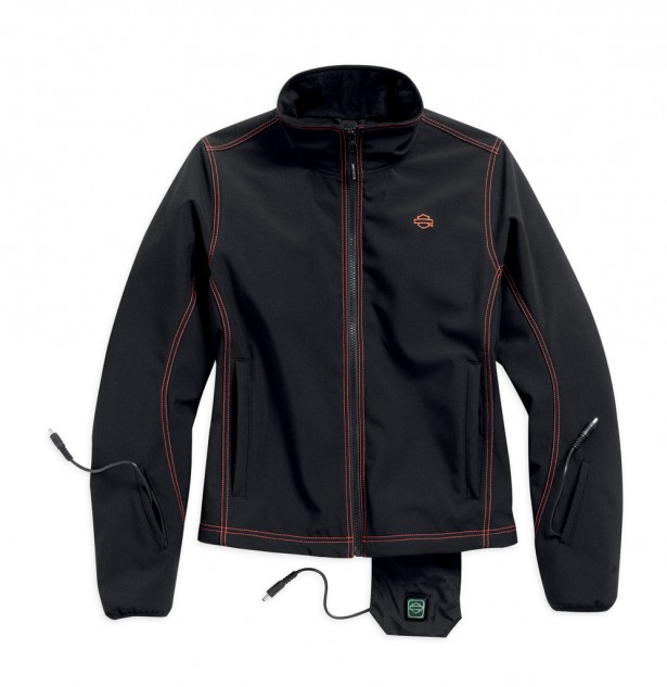 There's an electric jacket liner for women too! As well as heated gloves and a heated soft shell jacket.
