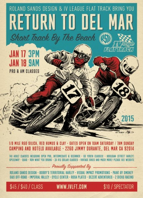 When Roland Sands gets behind an event, you typically want to see what it's all about. When it involves flat track, then you definitely want to see what it's all about.
