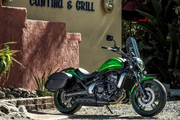 Kawasaki's accessories can make the Vulcan S fit your sense of style, too.