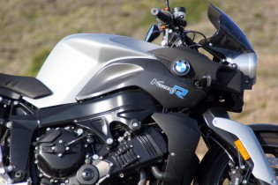 It's only down a few horsepower compared to the K1200S, due to a smaller airbox.