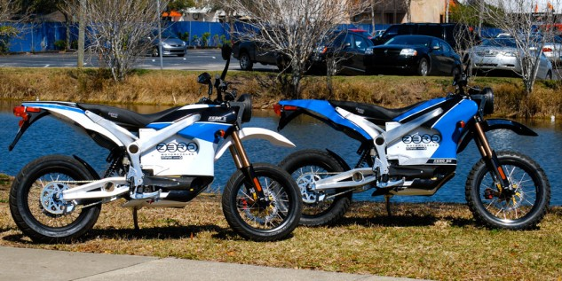 The 2010 Zero S and DS are cut from the same cloth.