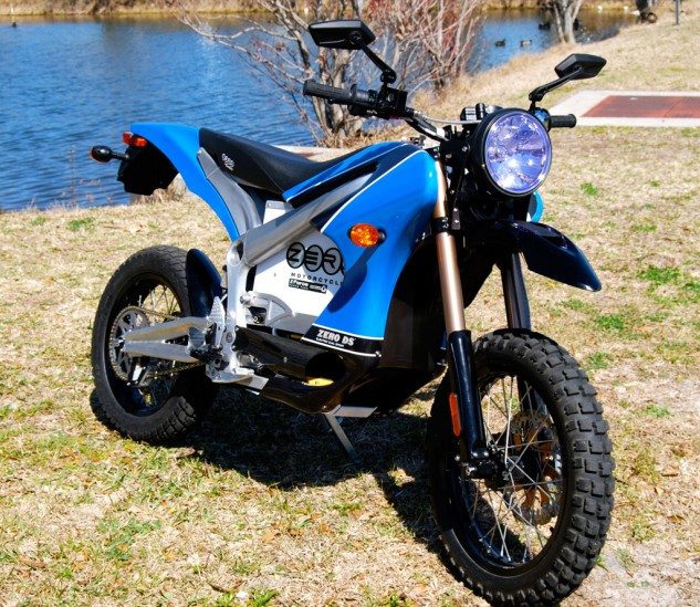 The Zero DS adds about 4 pounds worth of running gear to make it into a road-n-trail suitable all-rounder.