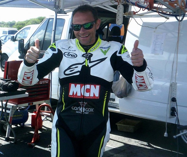 Michael Neeves from MCN did well racing for famous British DJ Carl Cox.