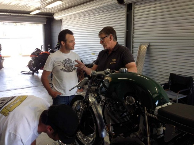Dudley Lister is Mick Doohan's ex mechanic and an Aussie legend. Here he chats with Cameron Donald about the Godet Vincent 500.