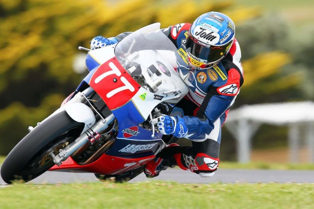John McGuinness Team UK. He loved the event so much last year he came back on his own steam for 2015.