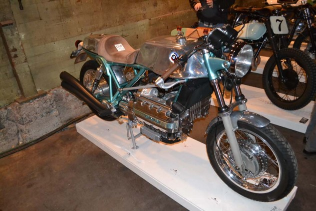 """Romestant Engineering and Design's K'Agusta BMW. Read about it  <a style=""""color: #3ec5ff;"""" href=""""http://www.motorcycle.com/manufacturer/bmw/larry-romestants-specialk-bmws.html"""">here</a>."""