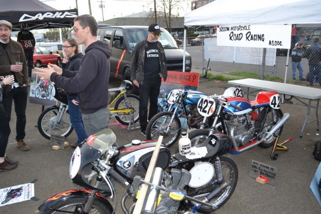 The Oregon Motorcycle Road Racing Association trying to recruit some new riders.