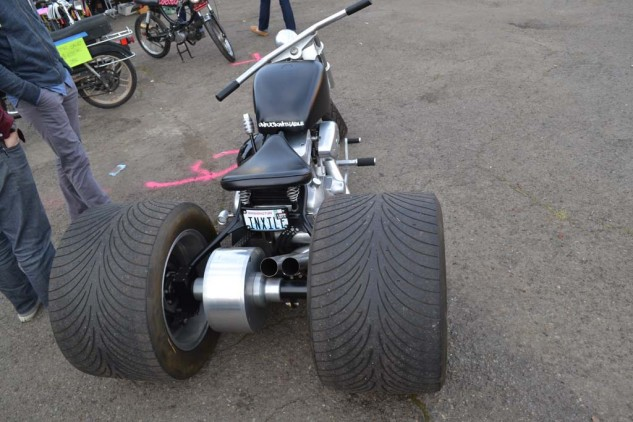 The infamous Exile Choppers Trike.