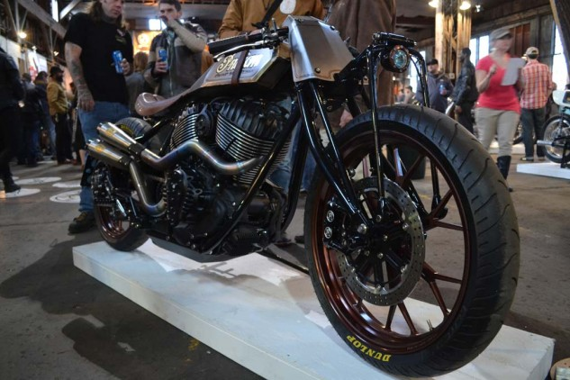 """""""Track Chief"""" Indian by Roland Sands Design. Put it on the Christmas list."""